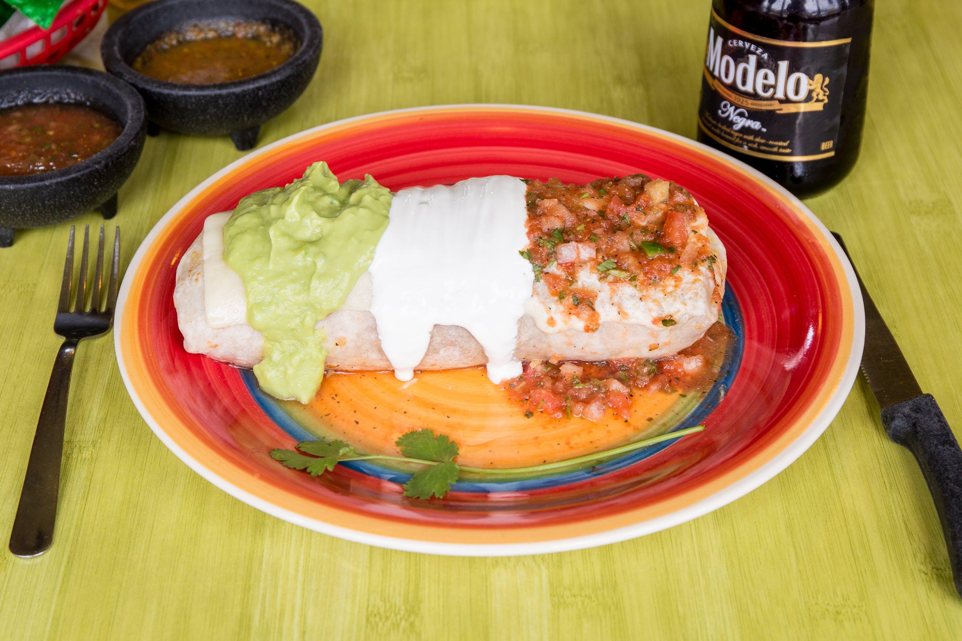 Burrito Mexicano from Taqueria Guadalajara in Madison, WI