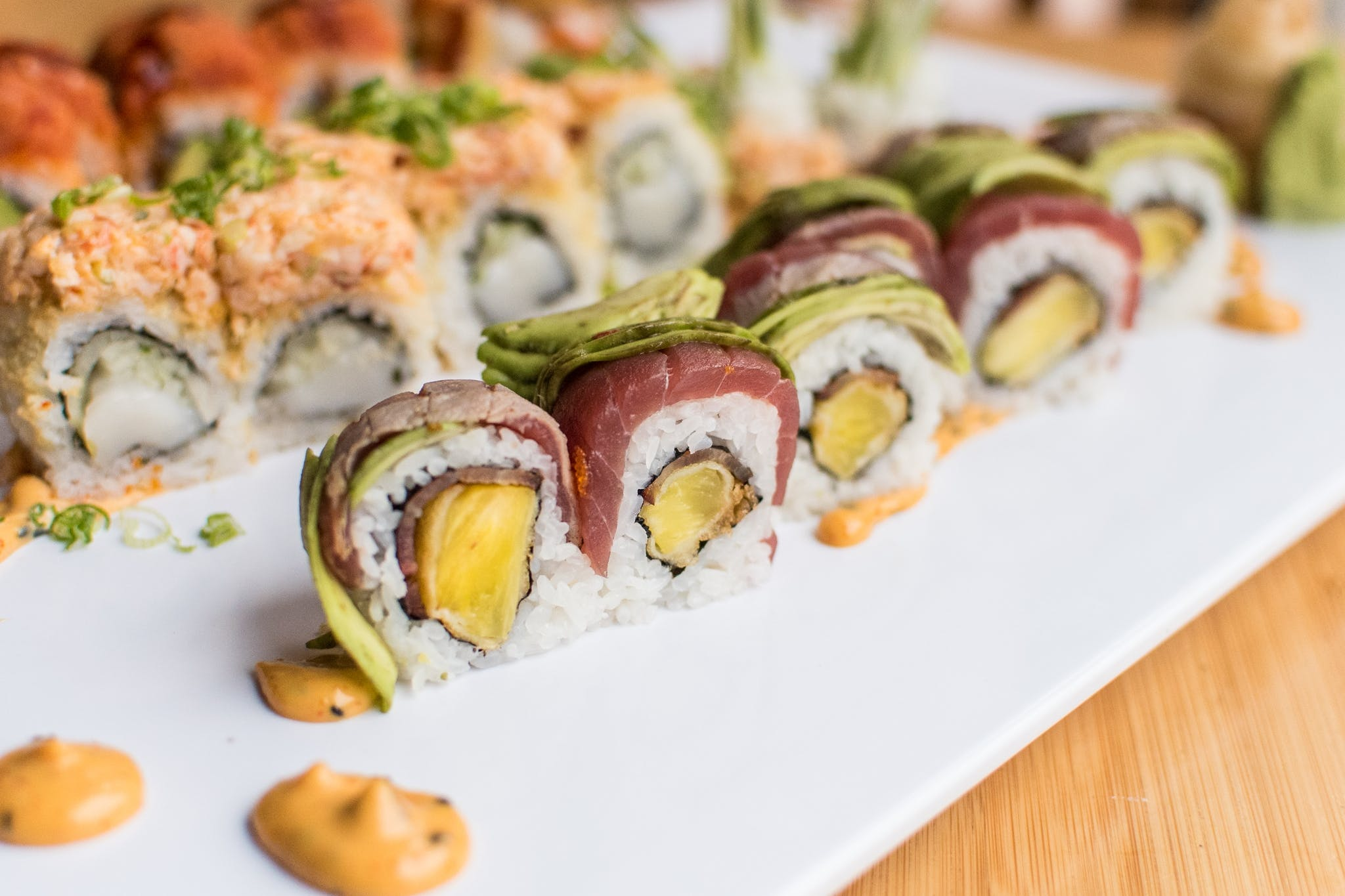 T.K.O. Roll from Tavernakaya in Madison, WI
