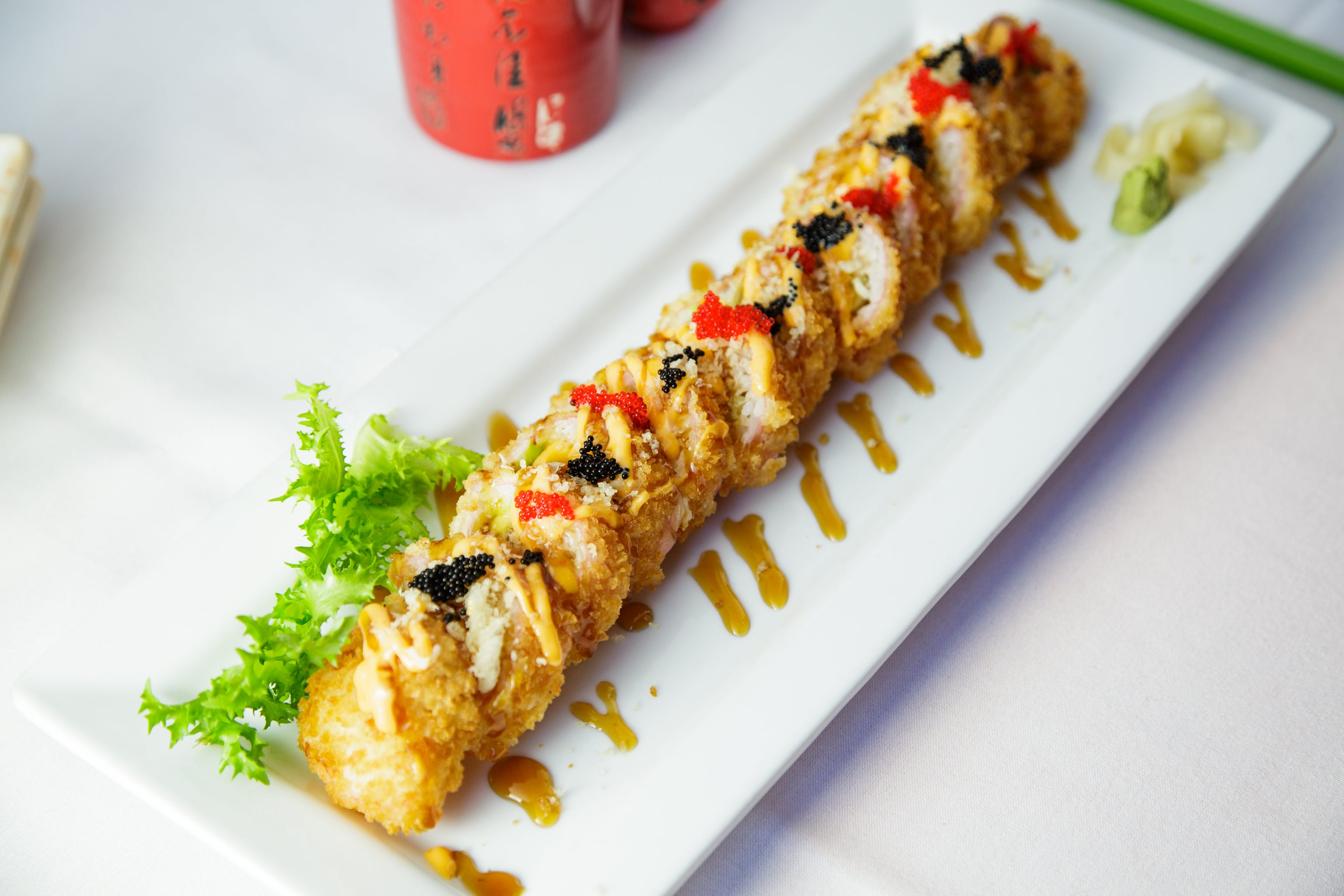 Dynamite Roll from Edo Japanese - Madison in Madison, WI