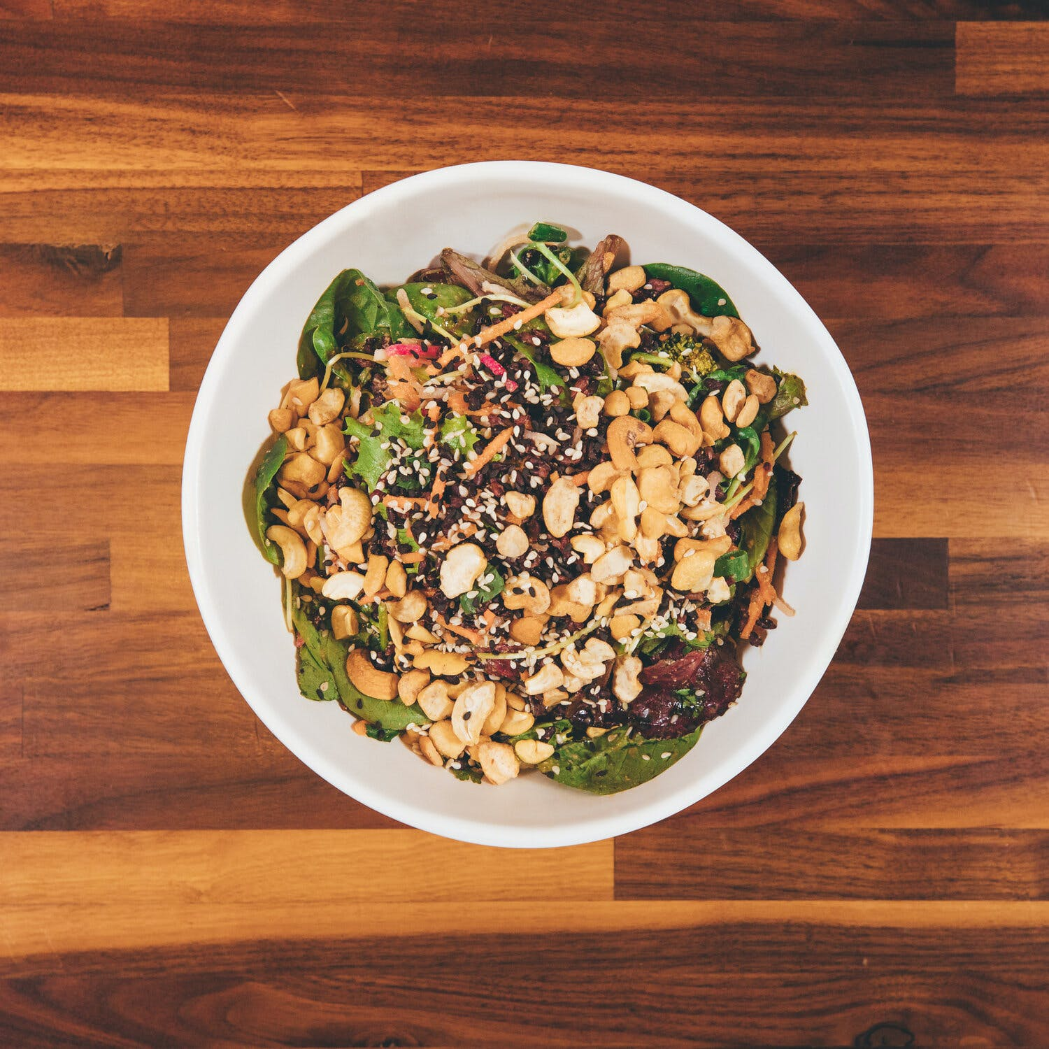Thai Cashew Bowl (V)(GF) from Forage Kitchen - Hilldale in Madison, WI