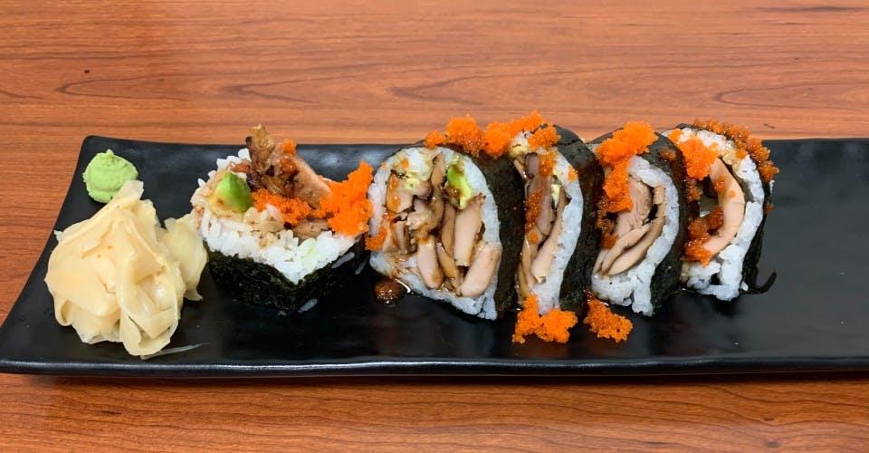 102. Teriyaki Roll (6 Pcs) from Oishi Sushi & Grill in Walnut Creek, CA