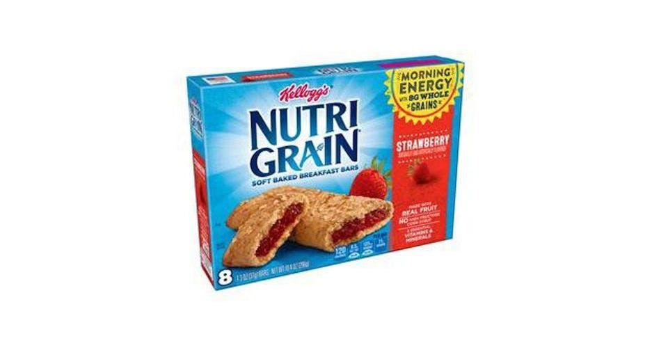 Kellogg's Nutri-Grain Cereal Bars Strawberry (10.4 oz) from CVS - Franklin St in Waterloo, IA