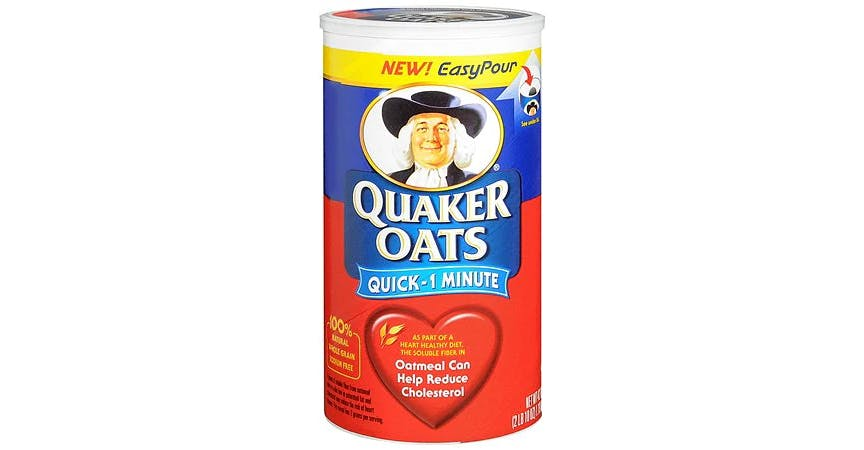 Quaker Quick-1 Minute Oatmeal (42 oz) from EatStreet Convenience - W Mason St in Green Bay, WI