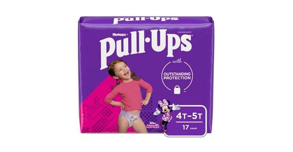 Pull-Ups Learning Designs Girls' Training Pants 4T-5T (17 ct) from CVS - Main St in Green Bay, WI