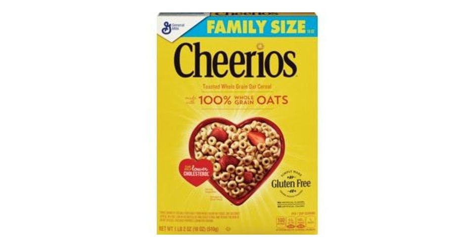 General Mills Cheerios Cereal (18 oz) from CVS - Main St in Green Bay, WI