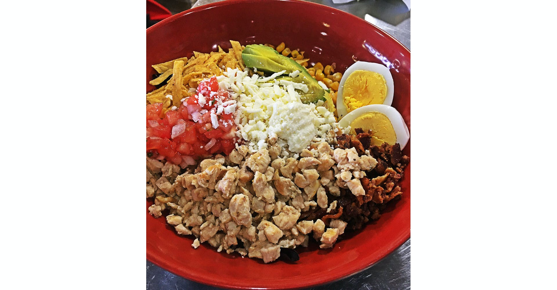 Chicken Chipotle Salad from Silly Serrano Mexican Restaurant in Eau Claire, WI