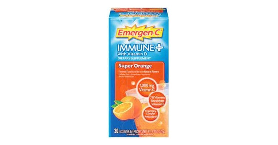 Emergen-C Immune+ 1000mg Vitamin C Powder Orange (30 ct) from CVS - Main St in Green Bay, WI