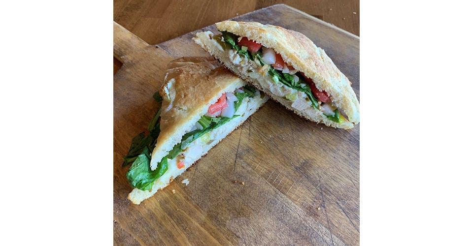 Atomic Chicken Sandwich from Papa Keno's in Lawrence, KS