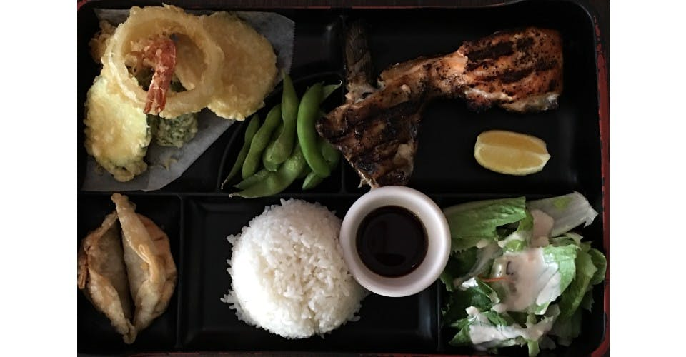 8. Lunch Bento H from Oishi Sushi & Grill in Walnut Creek, CA