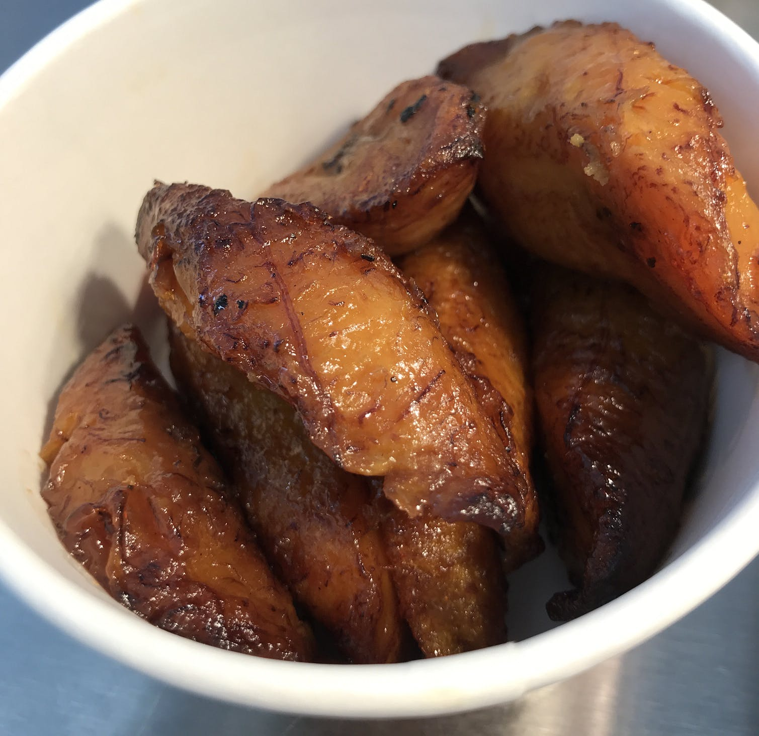 Side of Fried Plantains (8 oz.) from Anytime Arepa in Milwaukee, WI