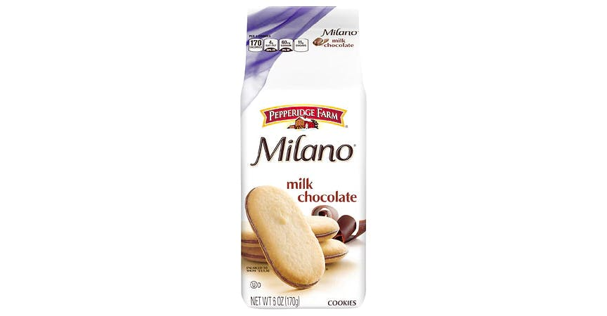 Pepperidge Farm Milano Milk Chocolate Cookie (6 oz) from EatStreet Convenience - W Mason St in Green Bay, WI