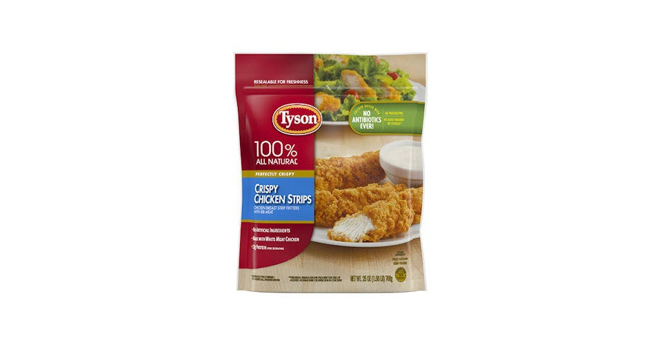 Tyson Crispy Chicken Strips 25OZ from Kwik Trip - Eau Claire Water St in EAU CLAIRE, WI