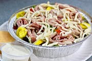 Chef Salad from Valentino's Italian Pizzeria in Richmond, VA