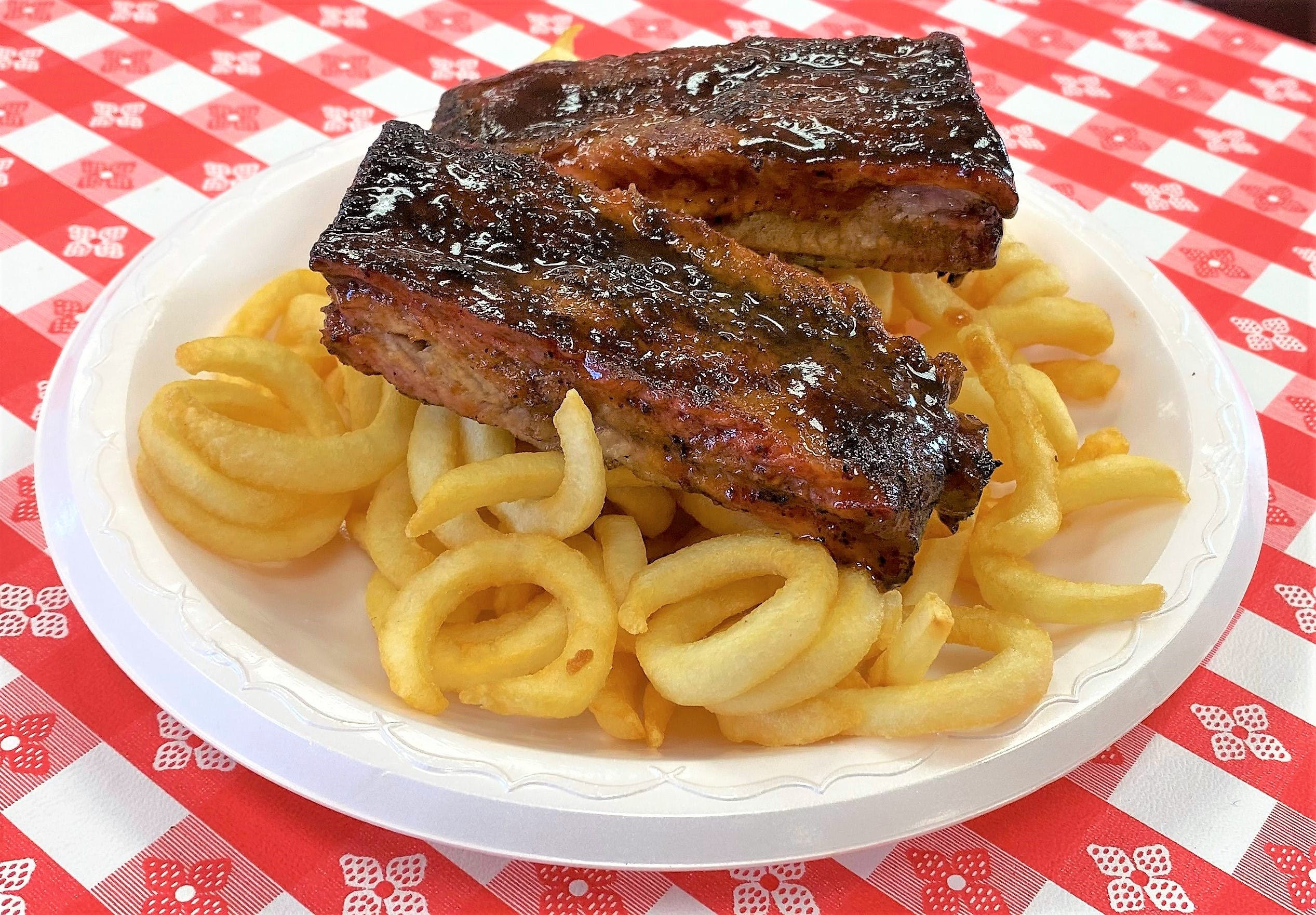Rib Snack Basket from Hog Wild Pit BBQ & Catering in Lawrence, KS