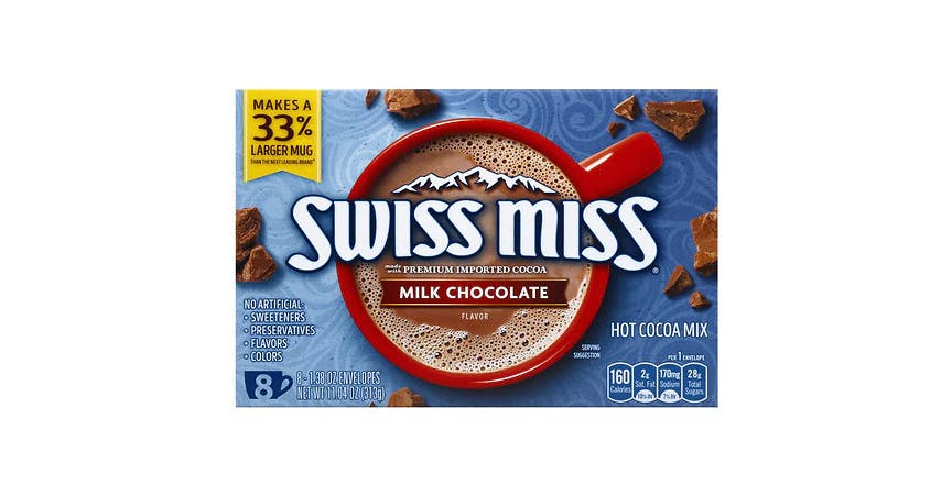 Swiss Miss Hot Chocolate 1.38 oz Packets (8 ct) from EatStreet Convenience - W Mason St in Green Bay, WI