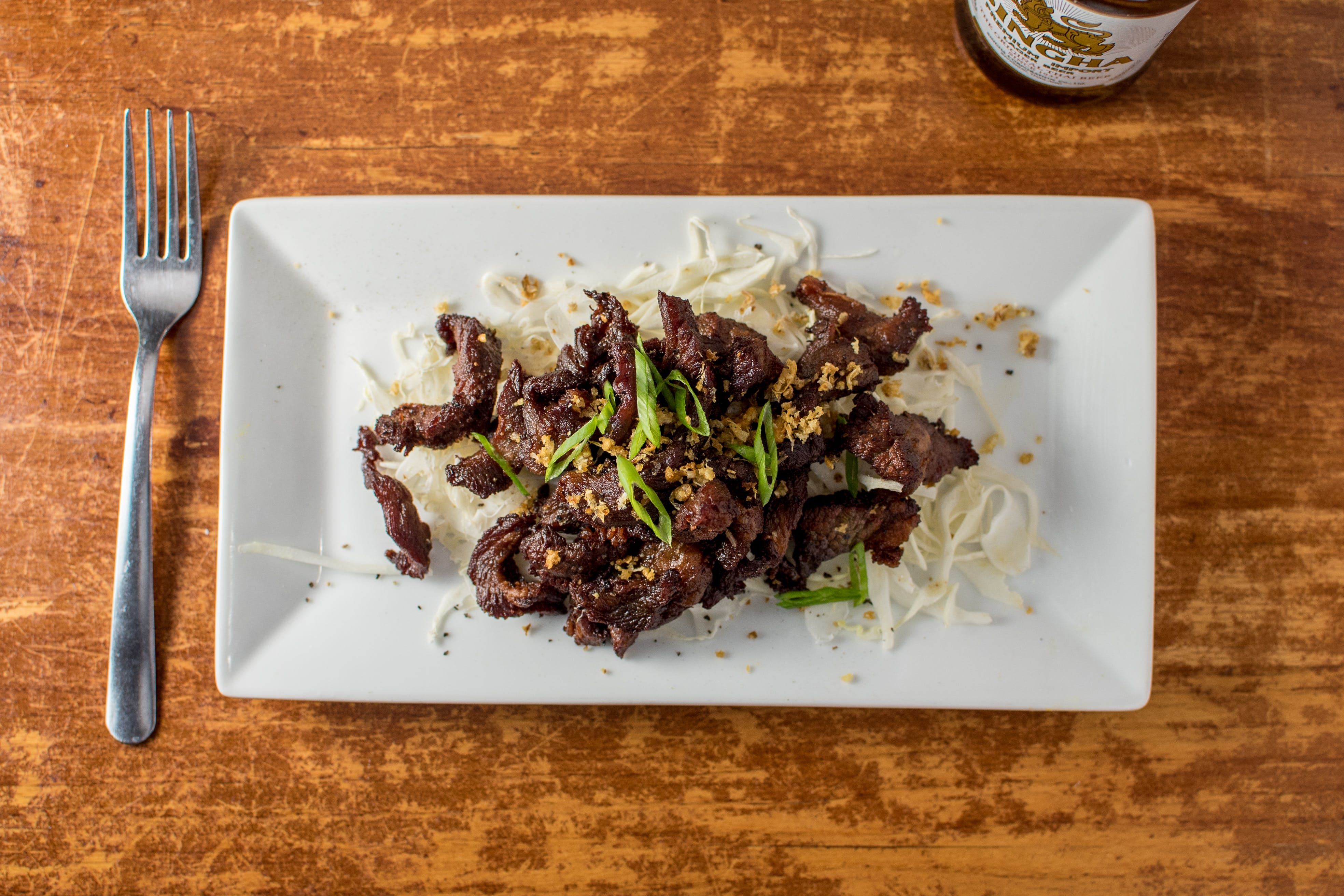Sun-Dried Beef from Monsoon Siam in Madison, WI