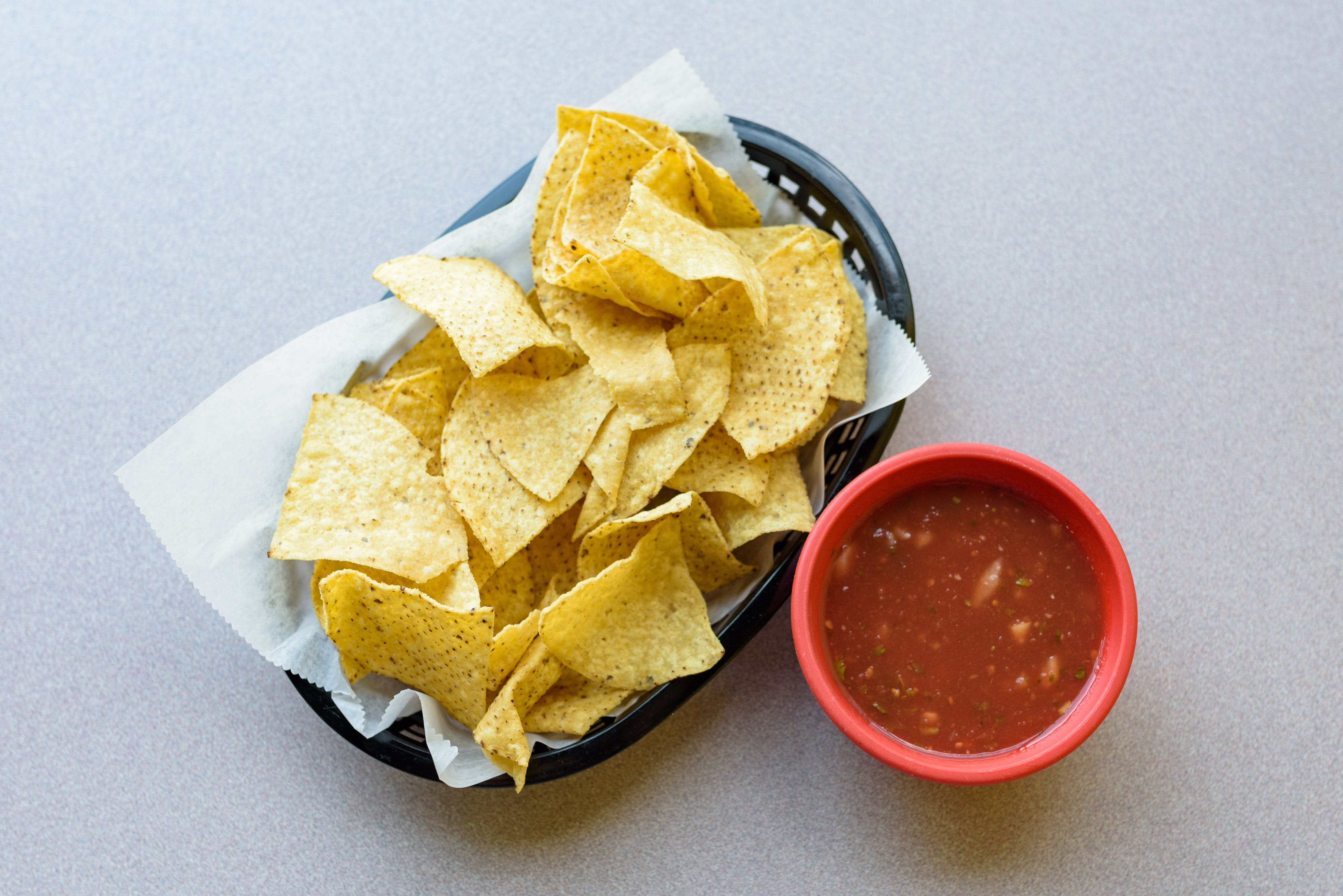 Chips from Taco King - W Liberty Rd. in Ann Arbor, MI