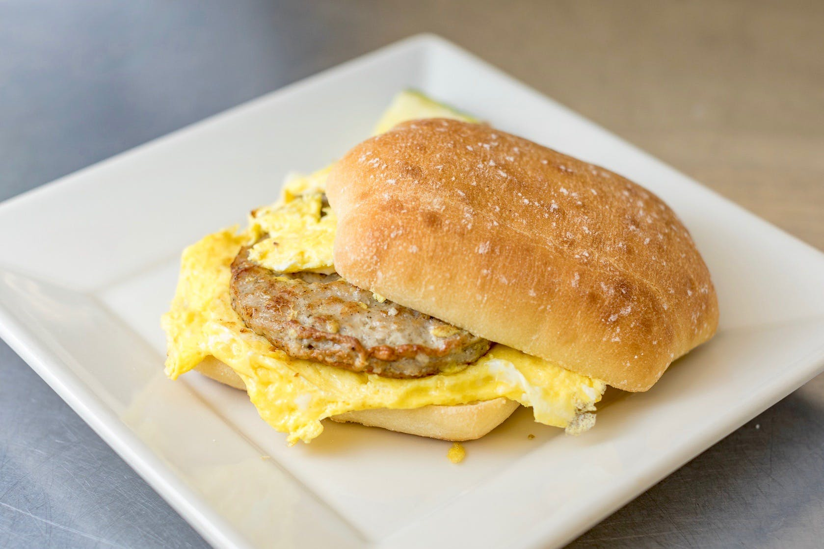 Breakfast Sandwich from The French Press in Eau Claire, WI