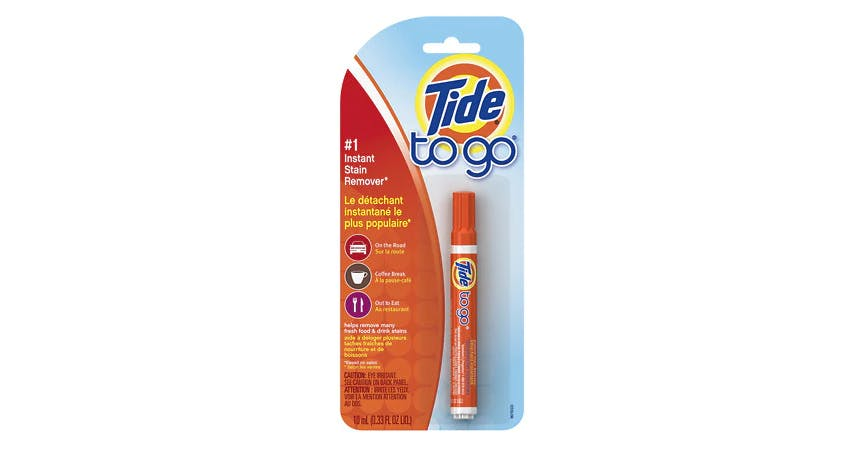 Tide To Go Instant Stain Remover Pen (0.33 oz) from EatStreet Convenience - SW Wanamaker Rd in Topeka, KS