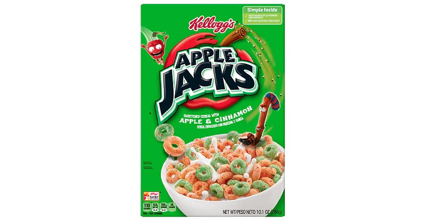 Apple Jacks Cereal (10 oz) from EatStreet Convenience - W Mason St in Green Bay, WI