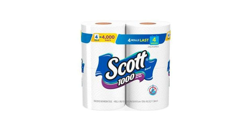 Scott 1000 Sheets Per Roll Toilet Paper (4 ct) from CVS - Main St in Green Bay, WI