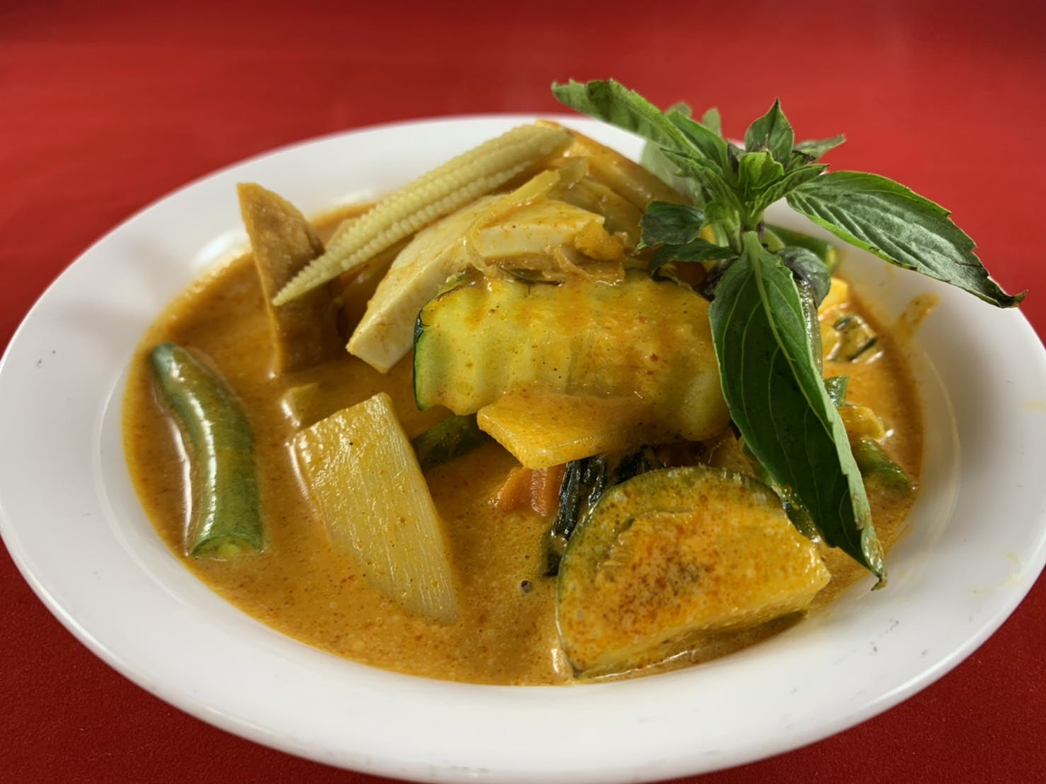 43B. Jungle Curry (Dinner) from Sa-Bai Thong - University Ave in Madison, WI