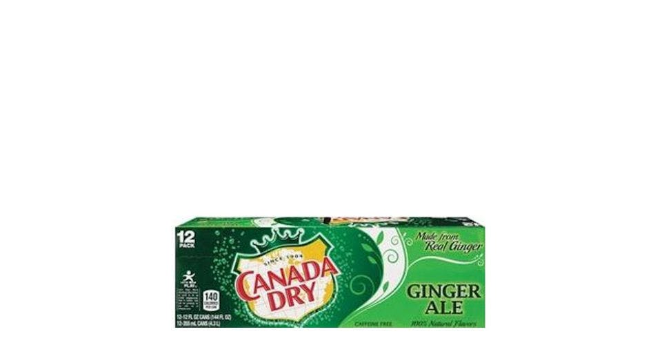 Canada Dry Ginger Ale 12 oz Can (12 pk) from CVS - Main St in Green Bay, WI