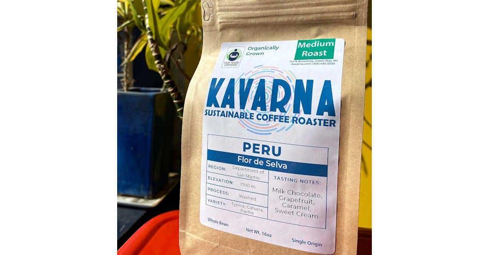 Peru Flor de Selva from Kavarna Coffee Store in Green Bay, WI