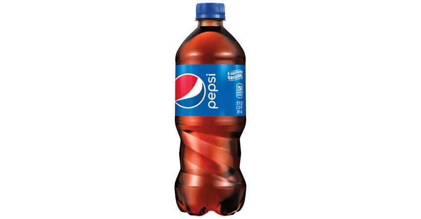 Pepsi Soda (20 oz) from EatStreet Convenience - SW Wanamaker Rd in Topeka, KS