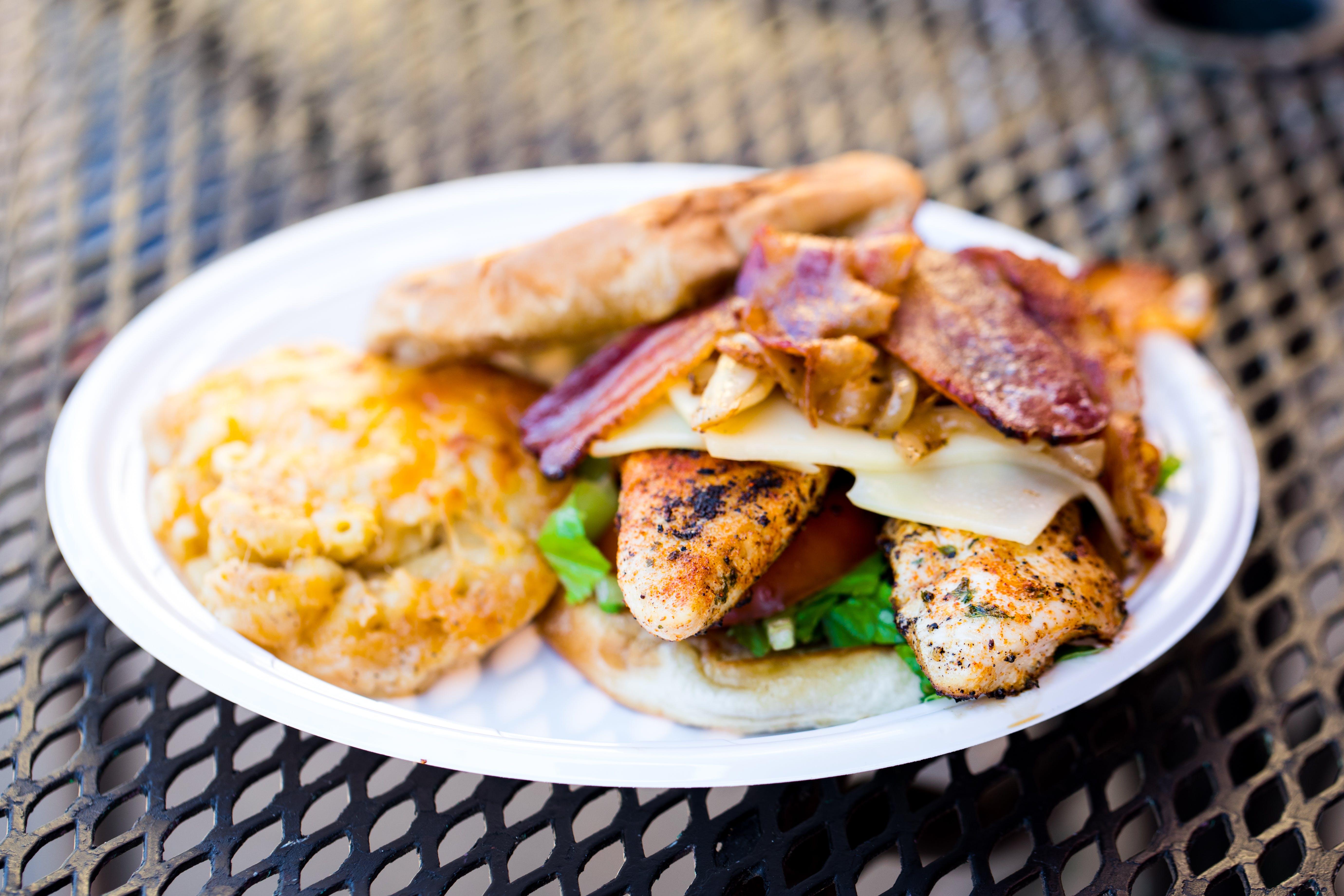 Blackened Chicken Sandwich from Big Herm's Kitchen in Richmond, VA