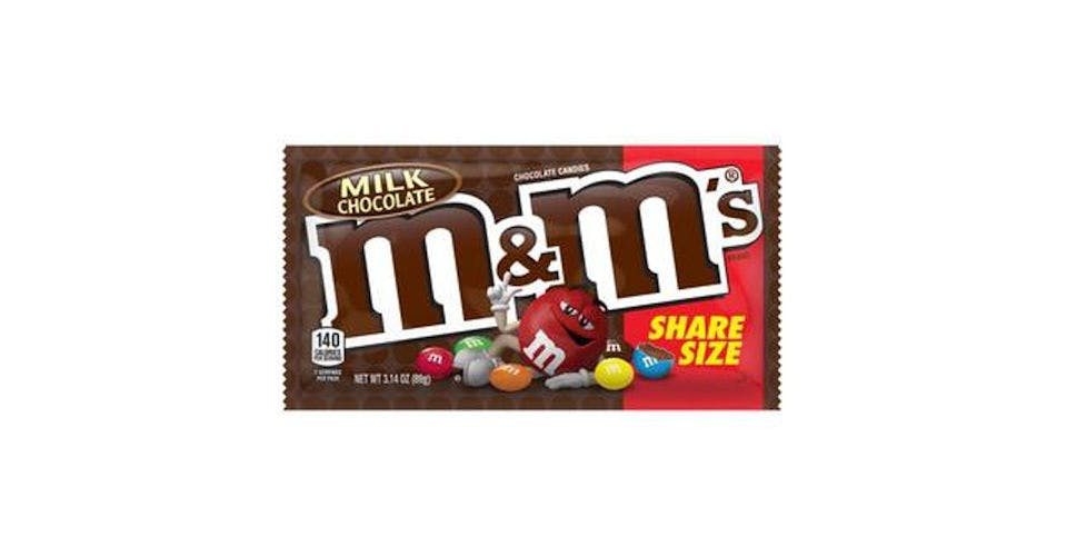 M&M's Milk Chocolate Candy Sharing Size (3.14 oz) from CVS - Main St in Green Bay, WI