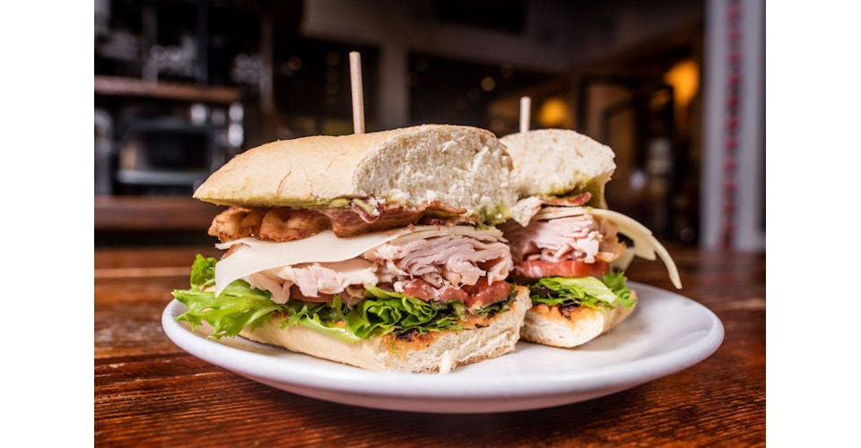 Smoked Turkey Avocado Sandwiches from Tallgrass Taphouse in Manhattan, KS