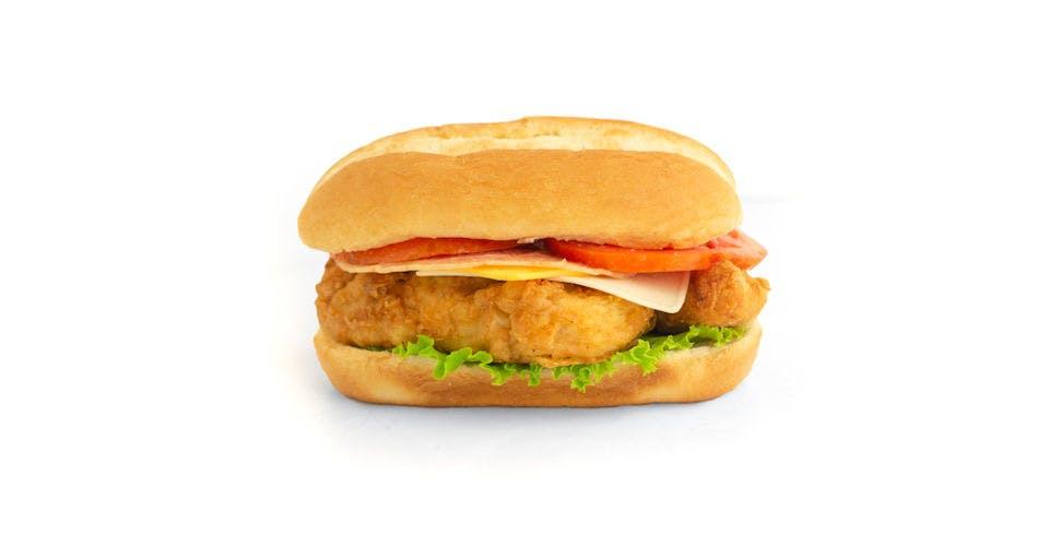 Chicken Sandwich: Chicken Tender Melt Sandwich from Kwik Trip - Oshkosh W 9th Ave in Oshkosh, WI