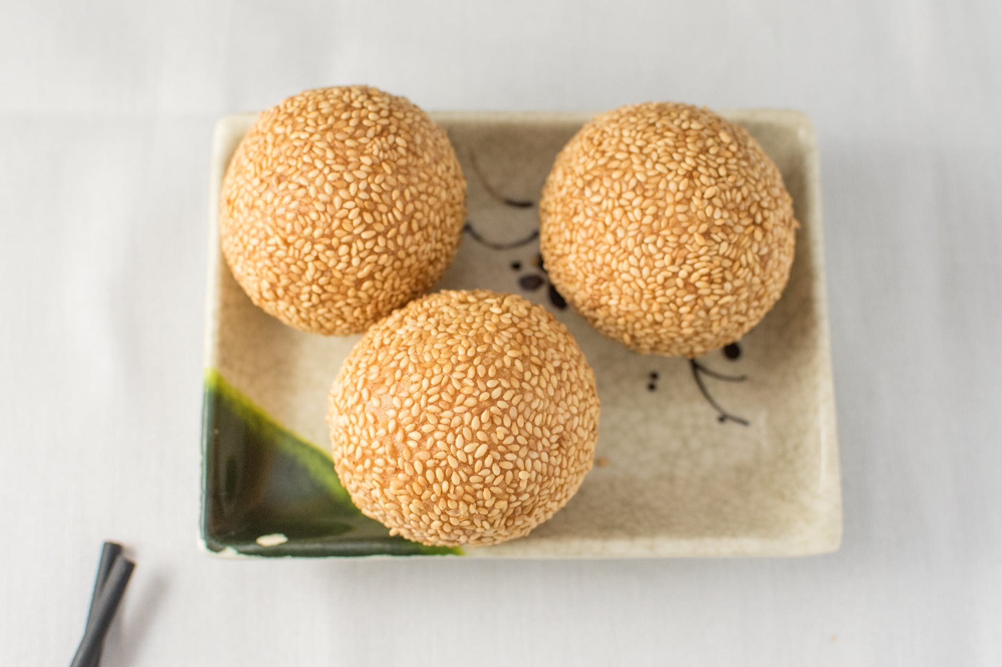 32. Deep-Fried Sesame Ball (V) from Nani Restaurant in Madison, WI