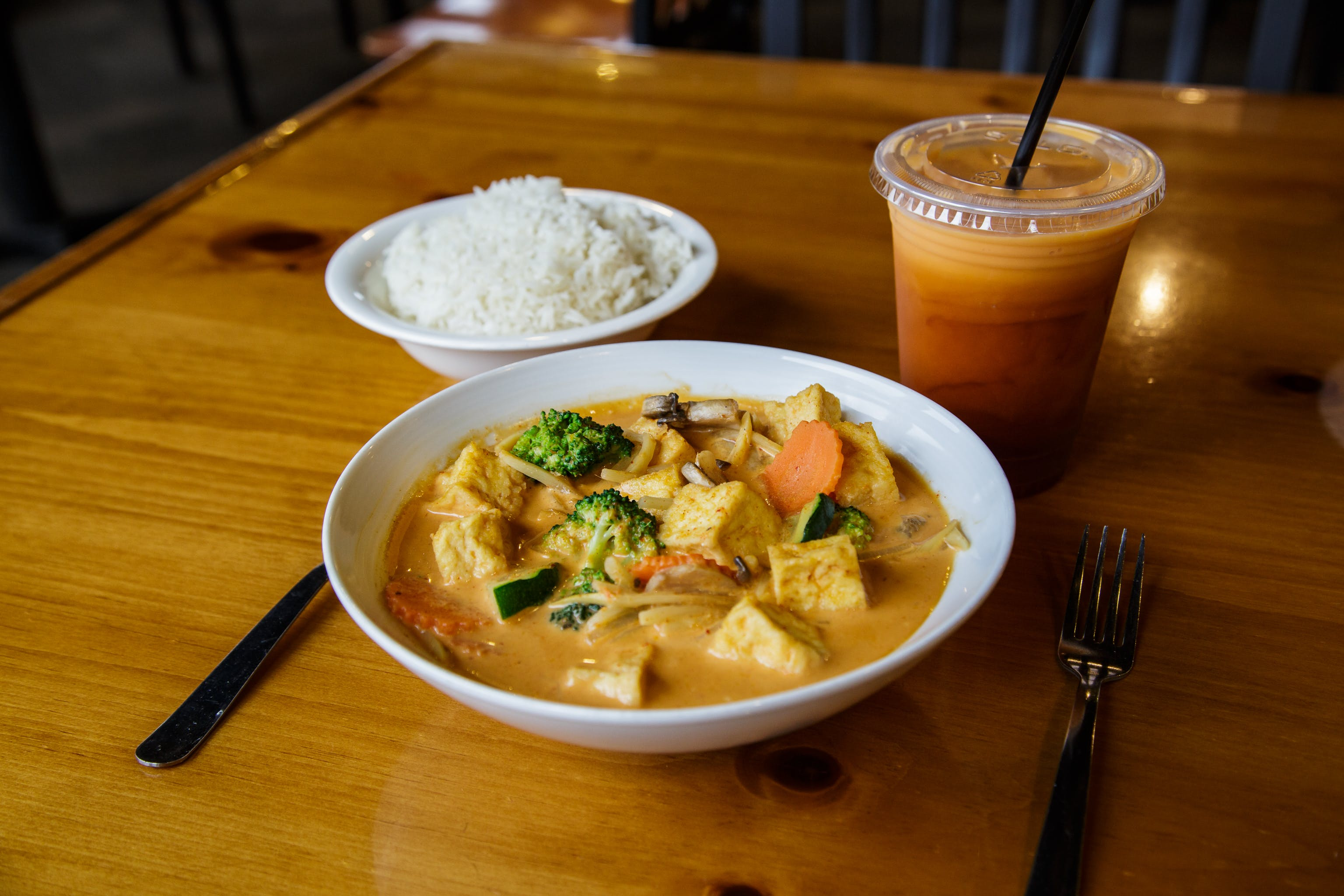 Mixed Veggie Curry Tofu* from Curry Campus in Madison, WI