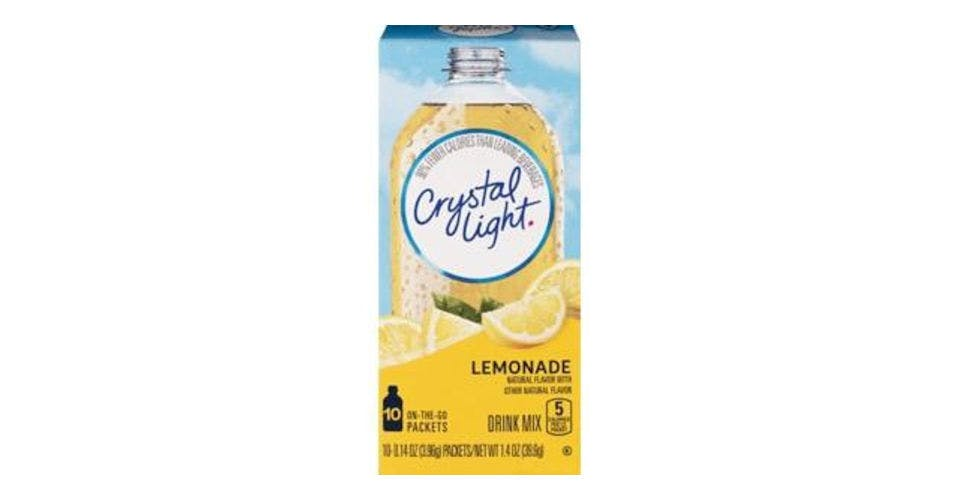 Crystal Light Drink Mix Lemonade 1.4 oz each (10 ct) from CVS - Main St in Green Bay, WI