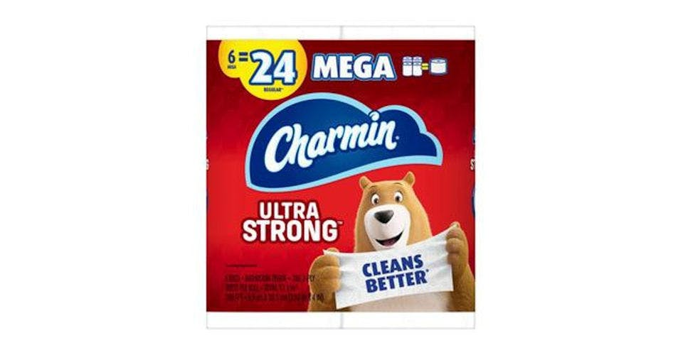 Charmin Ultra Strong Toilet Paper (6 ct) from CVS - Main St in Green Bay, WI