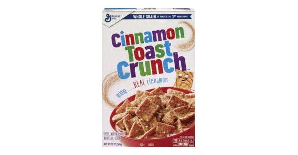 General Mills Cinnamon Toast Crunch Cereal (12 oz) from CVS - Main St in Green Bay, WI
