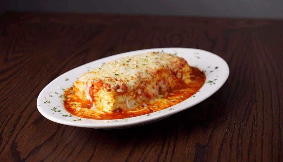 Baked Lasagna from Rosati's Pizza - DeKalb in Dekalb, IL