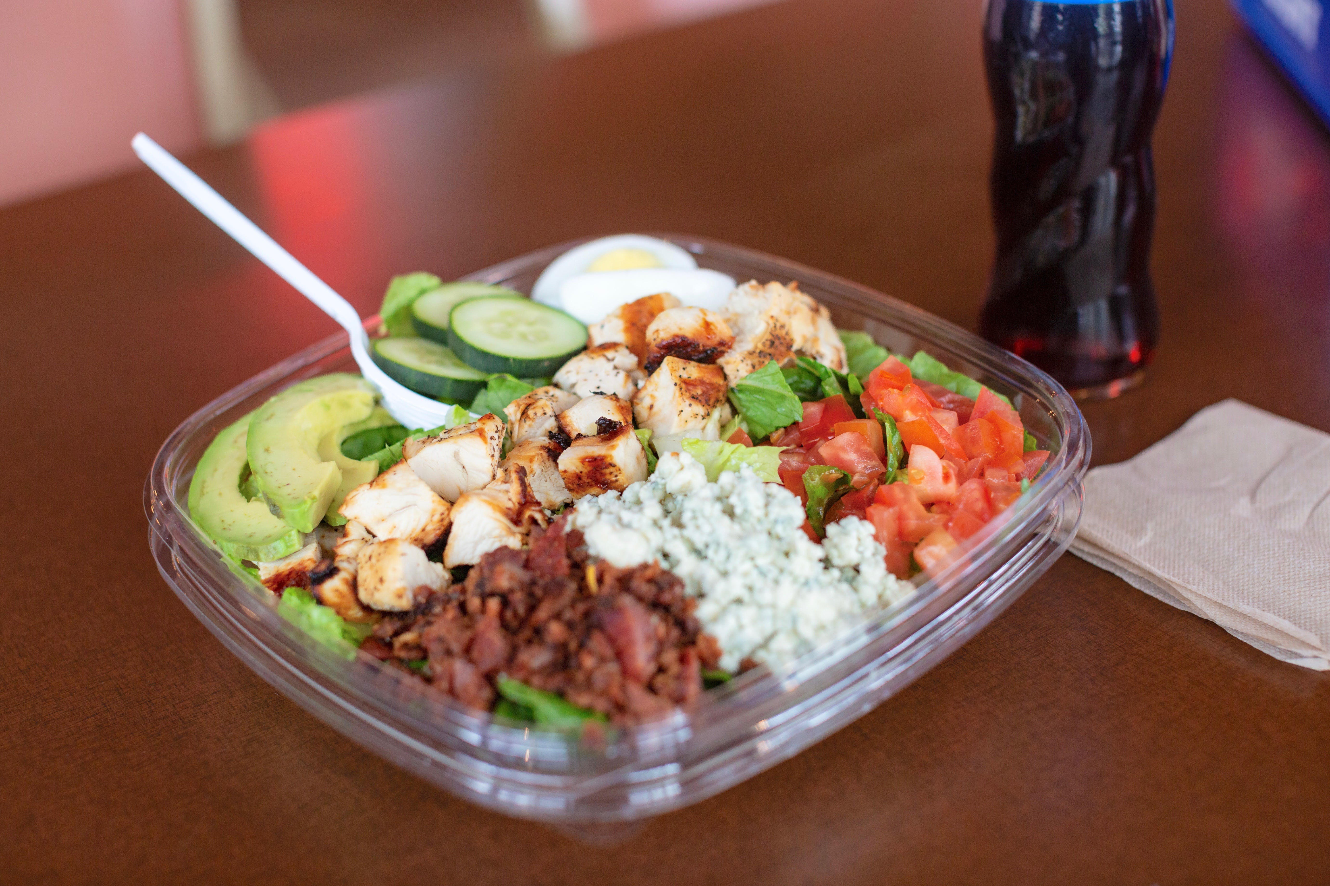Malibu Cobb Salad from Burgers by Biggs in Lawrence, KS