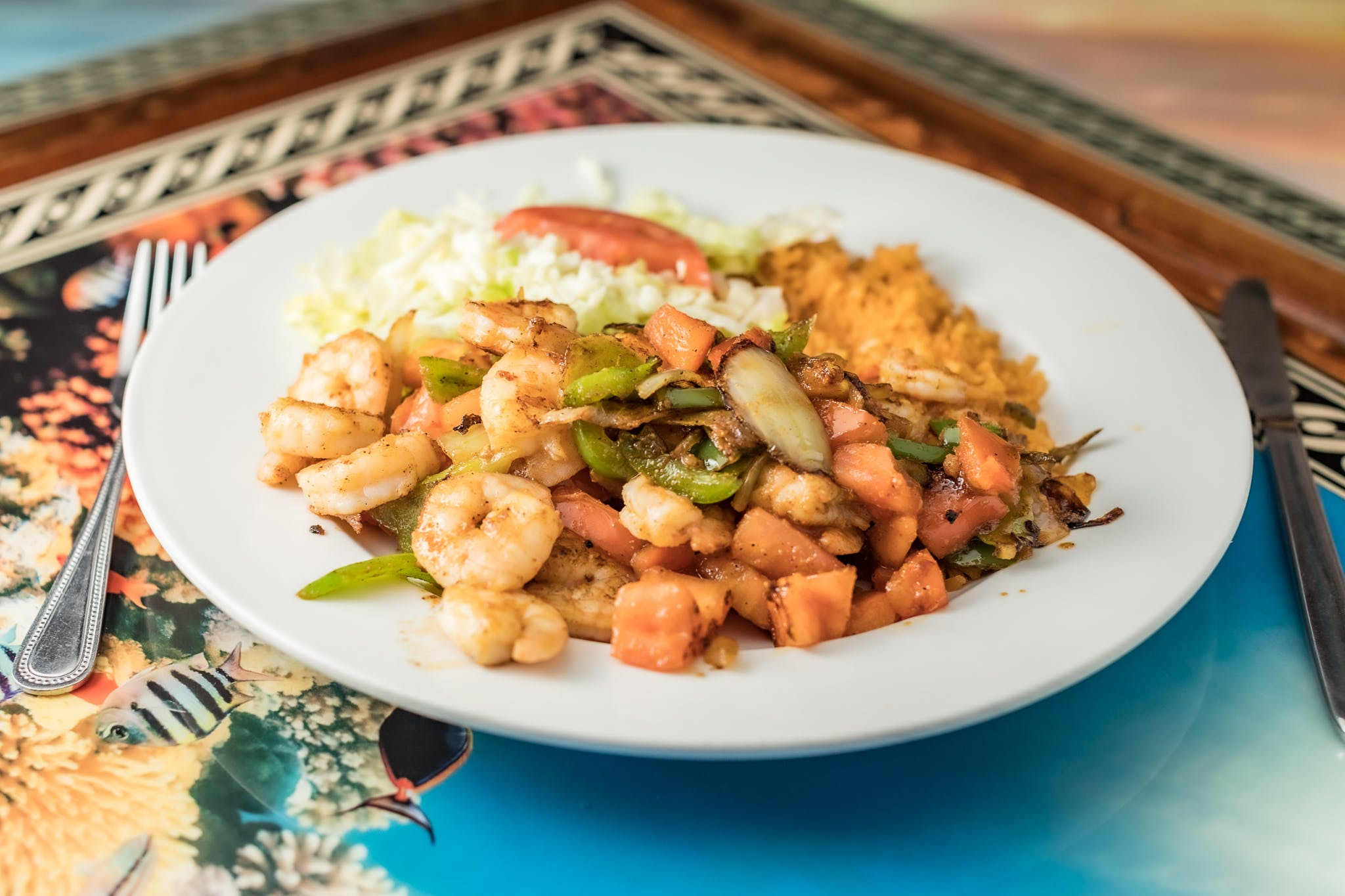 Shrimp Loco from Casa Vallarta Mexican Restaurant in Eau Claire, WI
