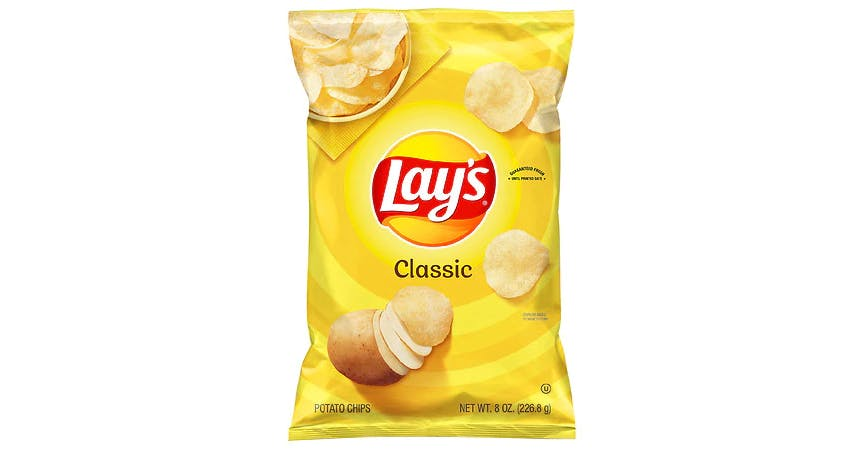 Lay's Potato Chips Classic (8 oz) from EatStreet Convenience - W Mason St in Green Bay, WI