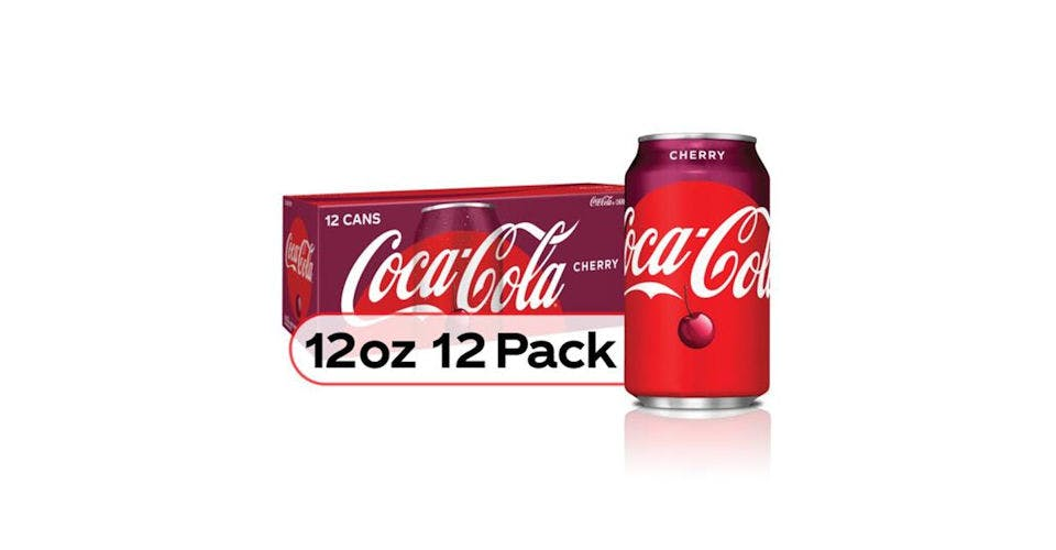 Coca Cola Cherry Can 12 Pack (12 oz) from CVS - Main St in Green Bay, WI