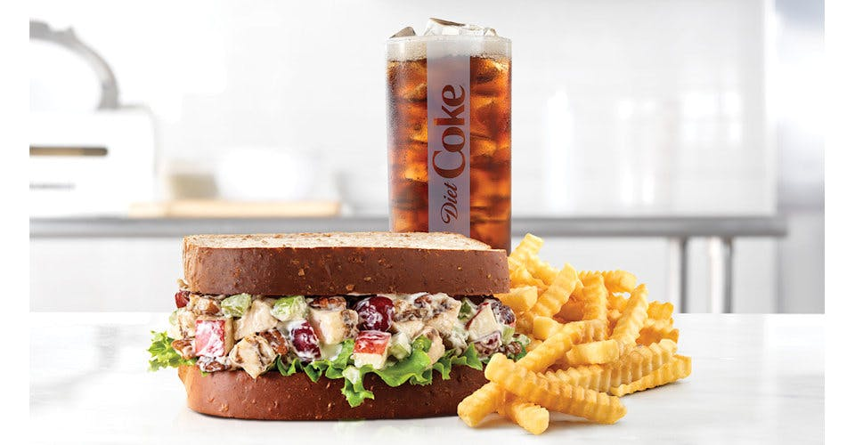 Pecan Chicken Salad Sandwich - Make it a Meal from Arby's: Eau Claire Hendrickson Dr (1958) in Eau Claire, WI