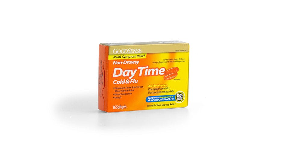 Goodsense Daytime Cold Flu 16CT from Kwik Trip - Eau Claire Water St in EAU CLAIRE, WI
