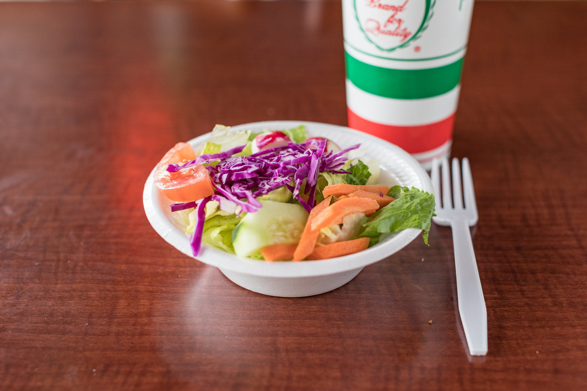 Small Salad from Johnny's Pizza Shop in Eau Claire, WI