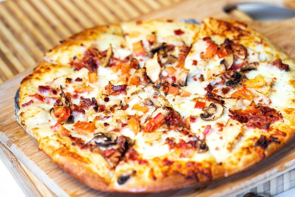 Chicken Bacon Ranch Pizza from The Growler Guys in Eau Claire, WI