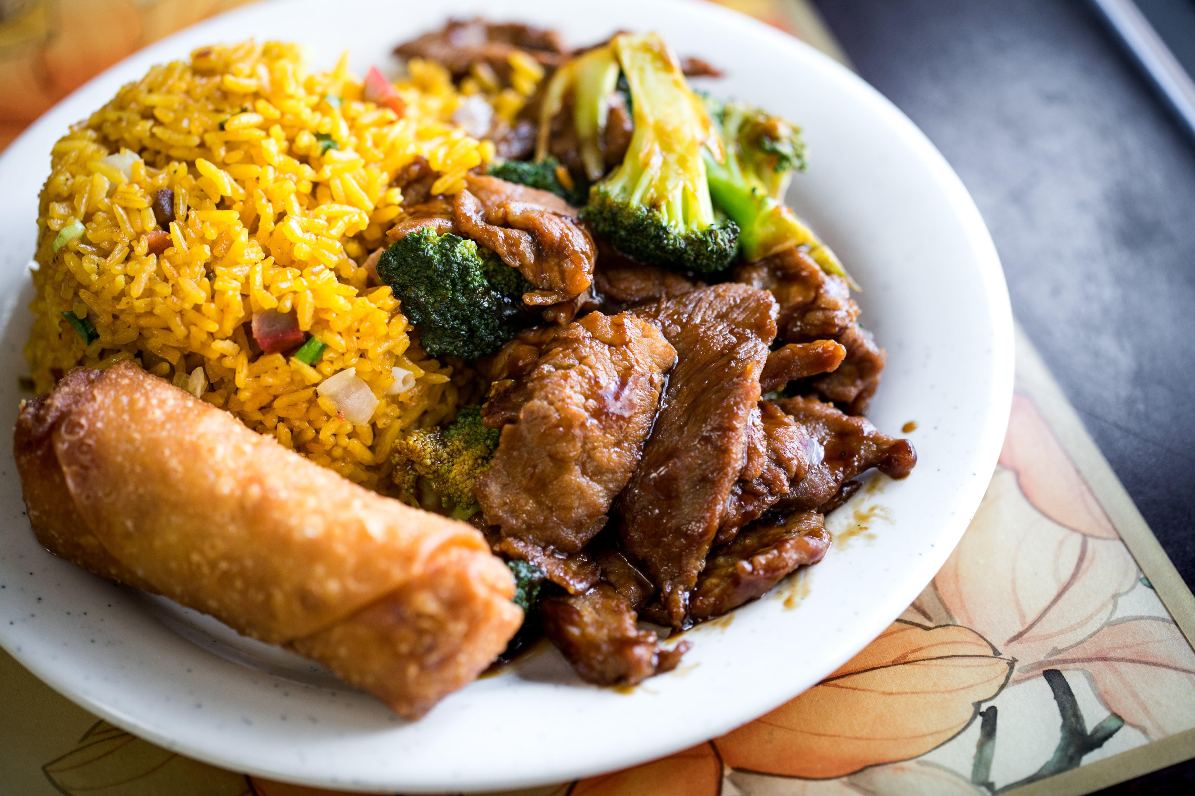 72. Beef w. Broccoli from Good Taste Chinese Restaurant in Richmond, VA