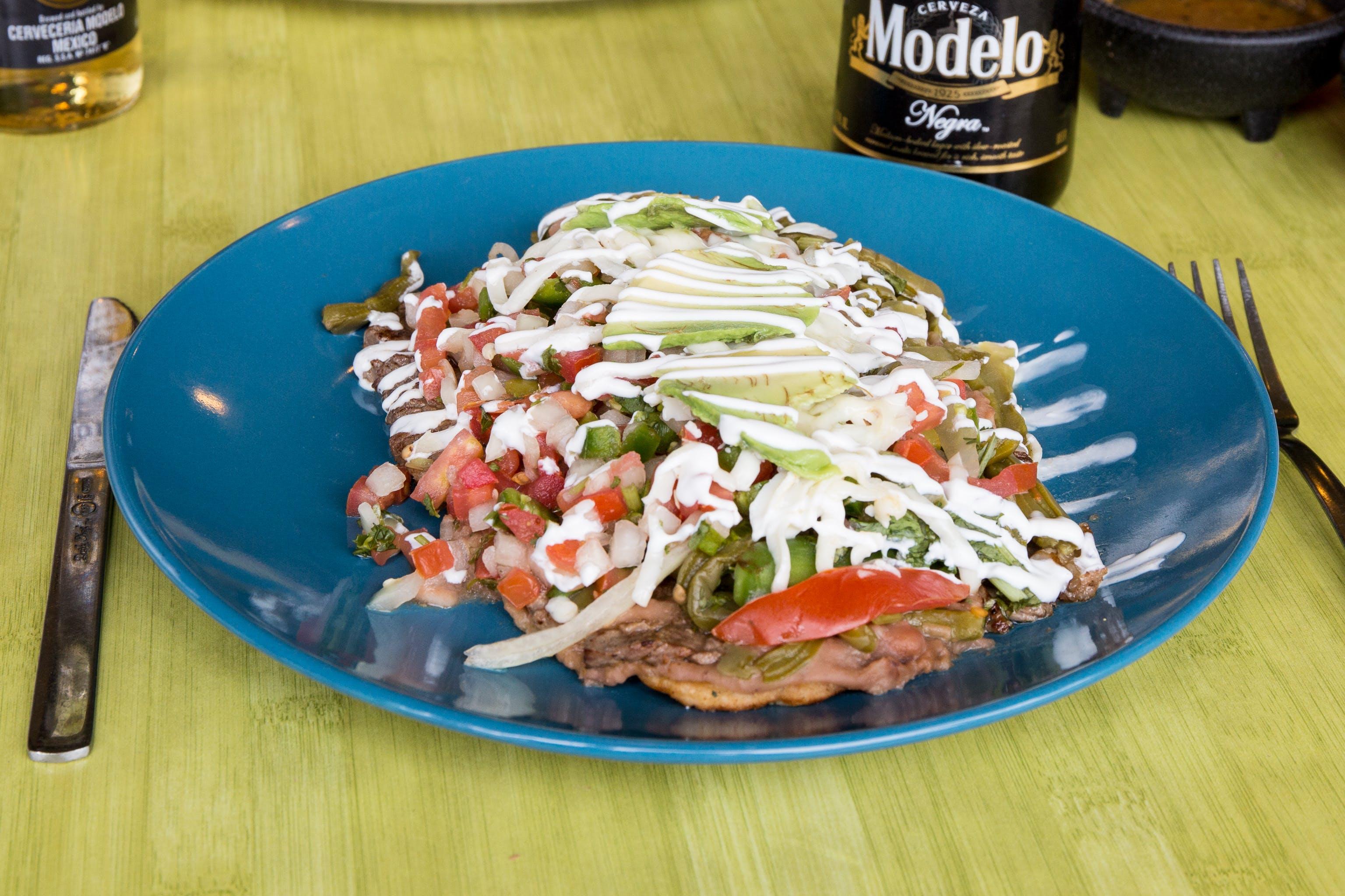 Hurache Mexicano Huaraches from Taqueria Guadalajara in Madison, WI