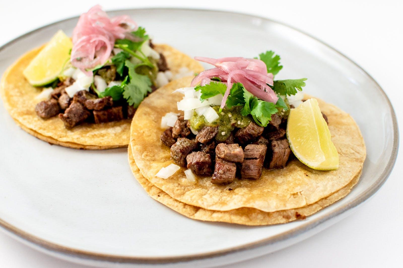 Carne Asada Tacos from Taco Royale - Eastside Madison in Madison, WI